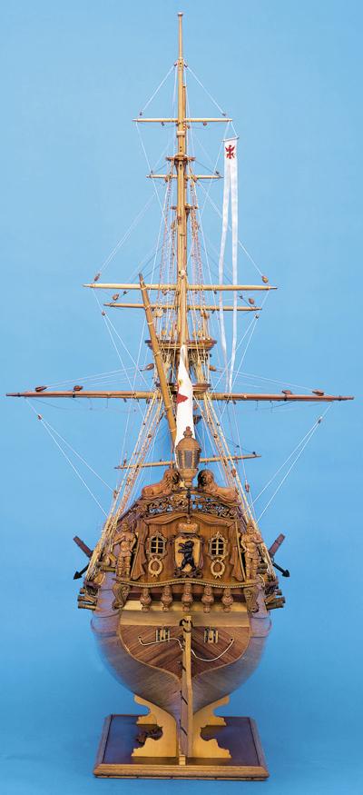 Sie sehen Bilder des folgenden Exponats: Fregatte Berlin und Große Jacht