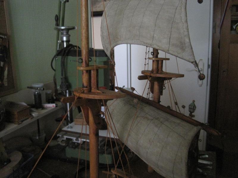 Sie sehen Bilder des folgenden Exponats: Bremer Karavelle